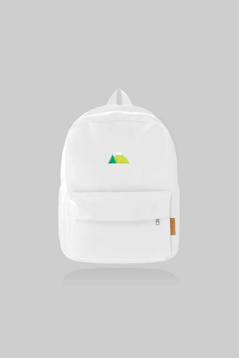 [New color limited] gentle mountain - big white rucksack