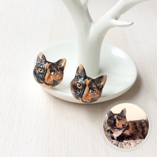 Custom Cat & Dog earrings, Custom dog earrings, Custom cat earrings