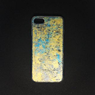 Acrylic Hand Paint Phone Case | iPhone 7/8 | Golden Sea