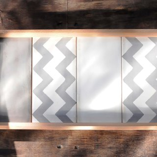 Tile tray - wave