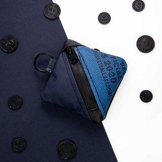 Double Team Coin Pouch (Blue)