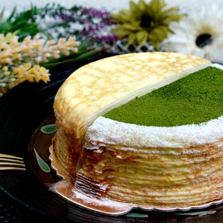 French original with Matcha platter