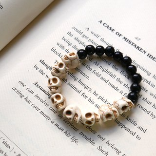 G18 Light you up skeleton bicolor bracelet
