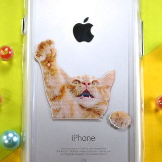 Graduation Gift Cat Mobile Phone Case [Scorpion Cat] iPhone X iPhone 8 Plus Samsung Sony hTC OPPO Mobile Shell