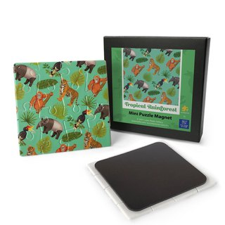 Mini Puzzle Magnet: Tropical Rainforest