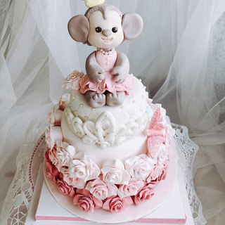 Meng da da monkey lollies cake