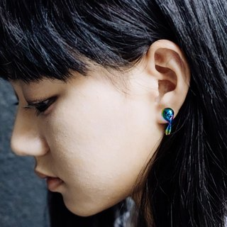 Rare Earth // Water Drop Earring 幻彩水滴型耳環