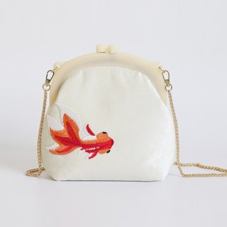 Ke people original chain package women new wild Messenger bag embroidery small square package shoulder bag