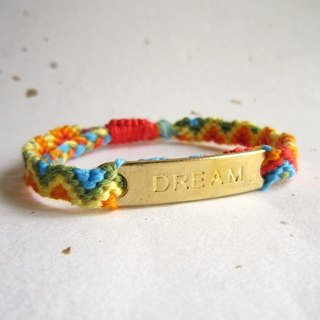 Chasing dream lucky rope woven bracelet (optional color)