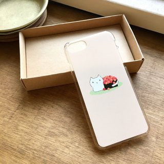 Carp egg cat phone case