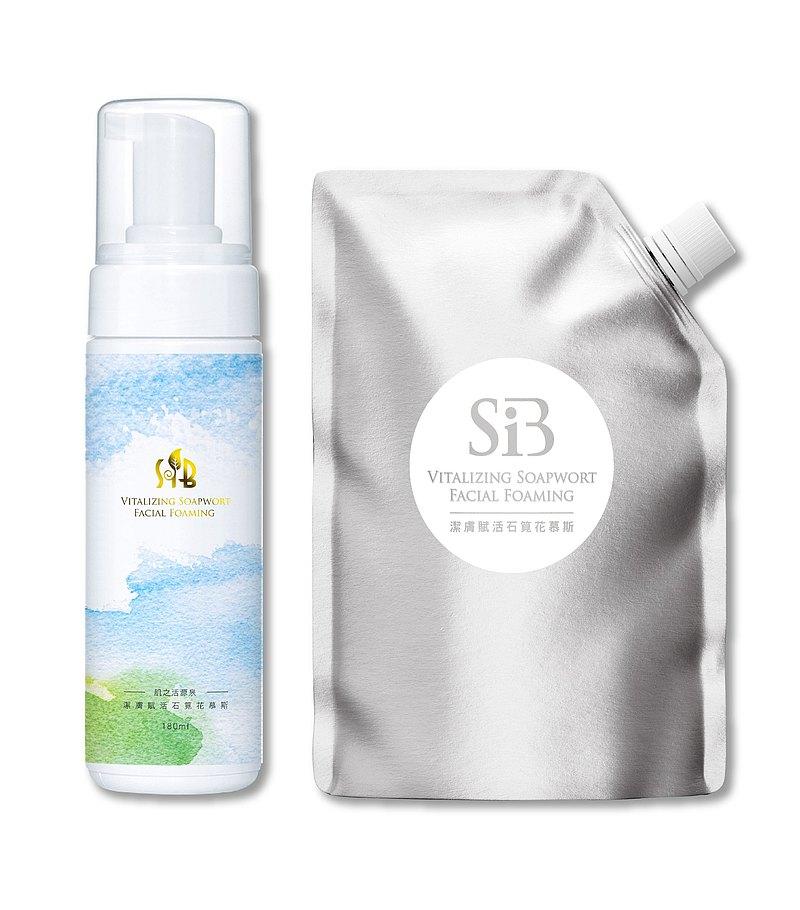 SiB 潔膚賦活石筧花慕斯   敏弱肌膚專用 無防腐劑、無香料添加