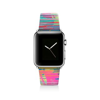 Colourful Apple watch band, Decouart Apple watch strap S033 (including adapter)