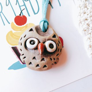 B-49 Owl Necklace │ 吉野鹰x Necklace Pure Handmade Design