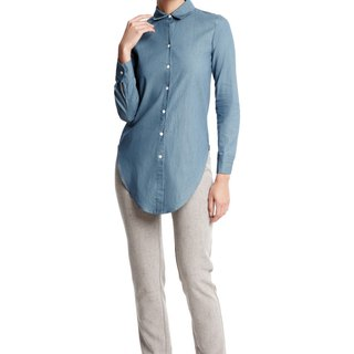 Dylan Shirt in Chambray Denim