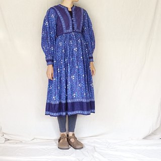 BajuTua / Vintage / Rilu Kuwan 70's Antique Indian Covered Dress