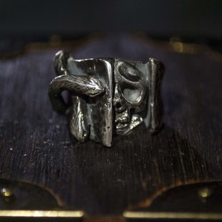 Alarein / Handmade Silver / Western Series / Ring / Fear
