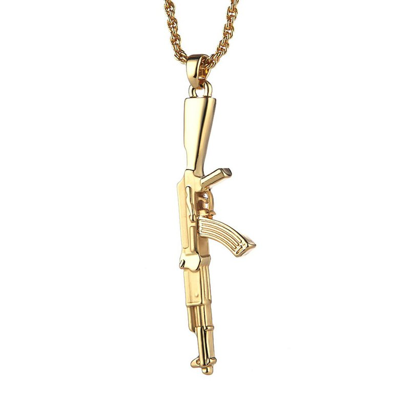 AK-47 Assault Rifle Necklace AK-47 Rifle Necklace