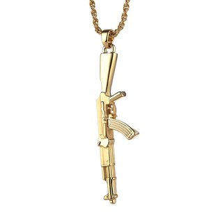 AK-47 Assault Rifle Necklace