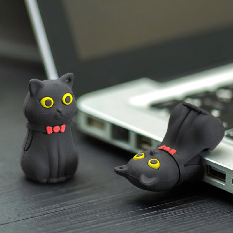 Bone / Sling Cat Drive 3.0 (16G) [Support USB 3.0 High Speed ​​Transfer]