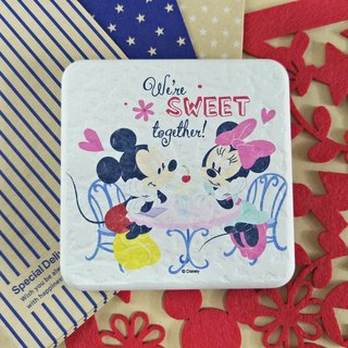 [Valentine's Day gift] Mickey Minnie - Genuine Disney Charcoal soil absorbent pad