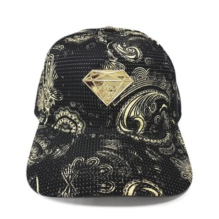 Diamond baseball cap # Dark gold generation of the old cap hat