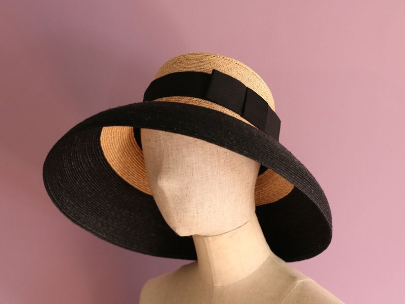 556edf30ea75a6 Casablanca style straw hat