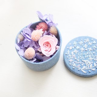 Forest Island Flower Box - Princess's Flower and Flower Biscuits