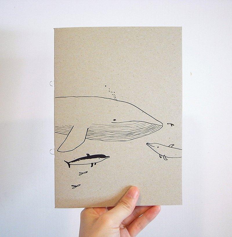 鯨筆記本/ 無包裝款