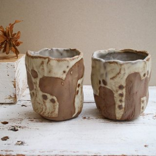 The third floor hand-made pottery cactus to cup teacup two