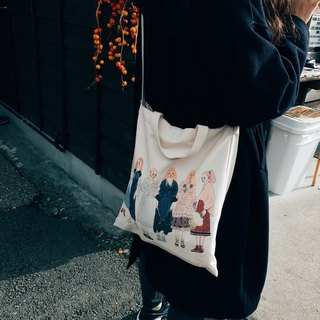 Dear together, double back canvas bag