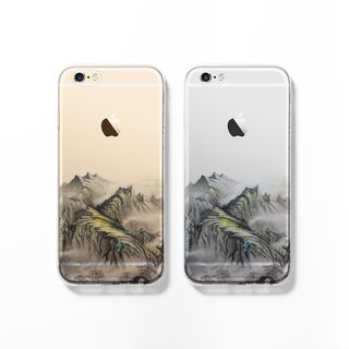 iPhone 6 case, Clear iPhone 6s case, Decouart original design C129