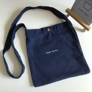 children's tote bag - dark blue