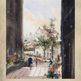 Taiwan Watercolor 100 Notebook - Huashan Cultural Park (Limited Edition)