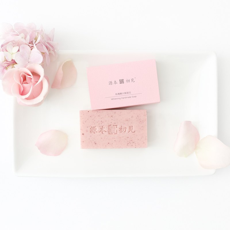 The source of the first see / Rose whitening moisturizing soap 90g 4 65% off