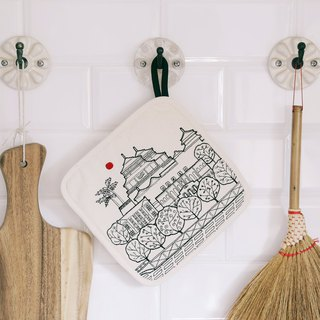 Tainan City Embroidered Pot Holder