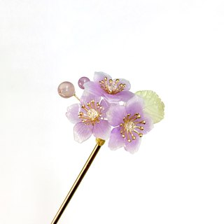 [If Sang] Spring. Sakuraji IV. Purple models. The cherry blossoms of the mountains. Resin cherry blossoms.