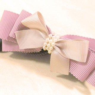 RARAPUPU bow banana clip - lotus color Valentine's Day birthday gift Christmas