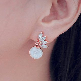 Crystallization-The wing < once upon a time*earrings >