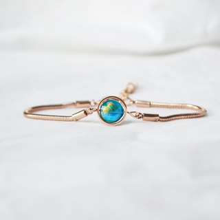 earth bracelet Rose gold