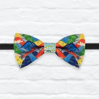 Style 0219 Bowtie - Modern Boys Bowtie, Toddler Bowtie Toddler Bow tie, Groomsmen bow tie, Pre Tied and Adjustable Novioshk