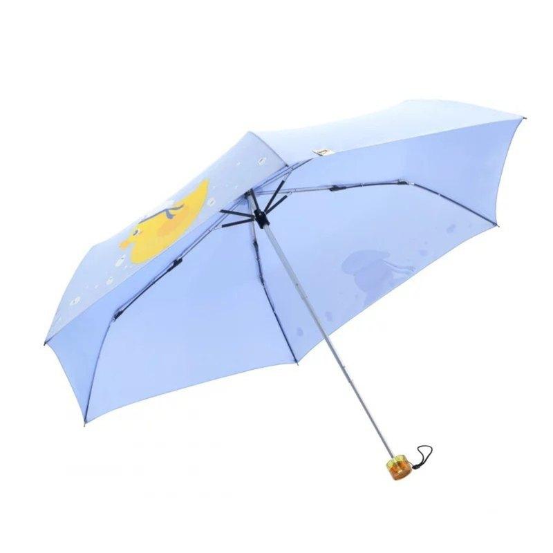 Boy 超輕防曬傘 - BY3031S 粉藍鴨子