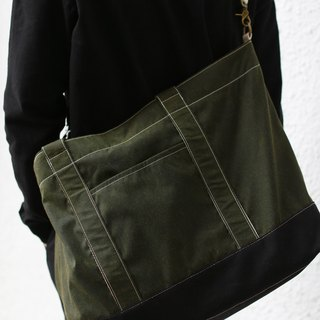 Army Green Beach Tote