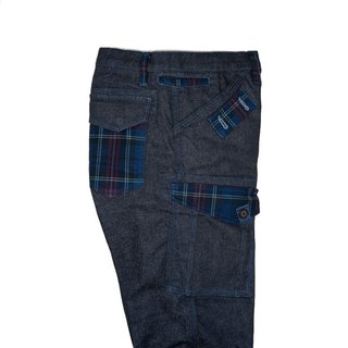 Berlin Classic Scotland Check 7 Pockets 蘇格蘭紋八口袋休閒褲