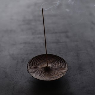 Natural hand-carved black walnut incense