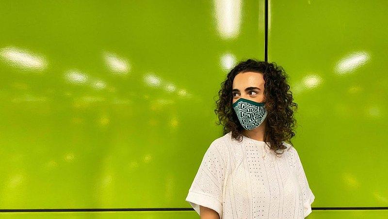 feat.MASK Maze - reusable 3D mask 可重用立體口罩