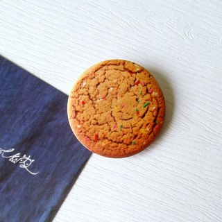 Eat goods badge series Meng Meng cookies / creative small things / personal characteristics