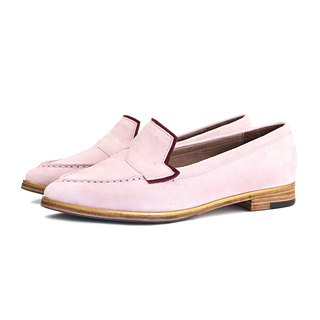 Je Suis Moi W1049A Pink Point-Toe Flats