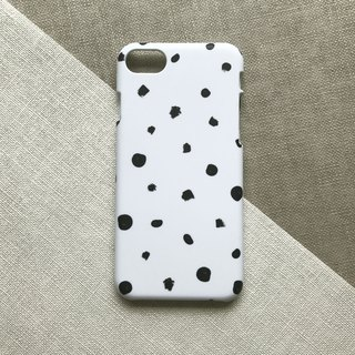 Modern Dots ink. Matte Case( iPhone, HTC, Samsung, Sony, LG, OPPO)