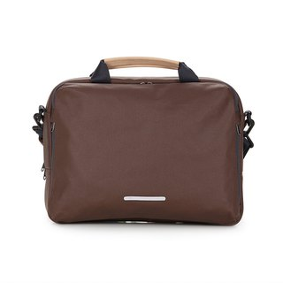 Canvas Series-13吋Three Simple Casual Bags (Hand/Shoulder/Side Back)-Dark Brown-RBF120BR