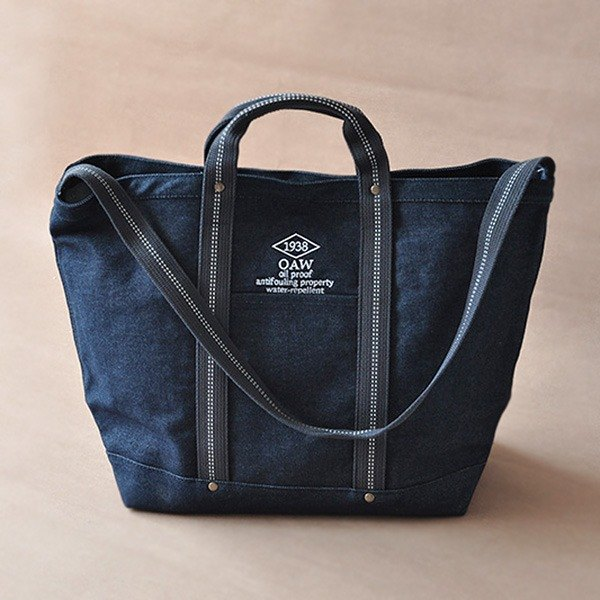 EVERYDAY BAG classic canvas backpack spot / DENIM denim blue